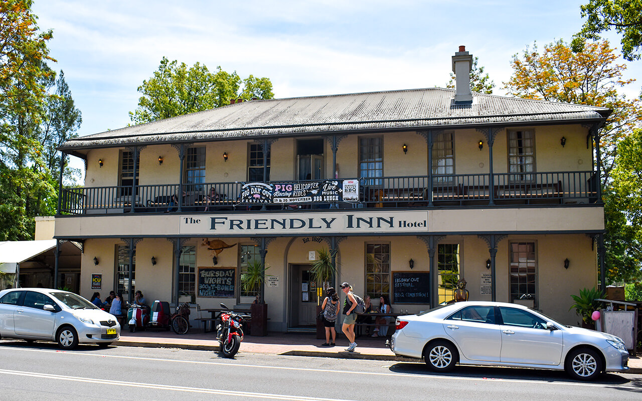 The Friendly Inn is worth the drive from Sydney to Kangaroo Valley