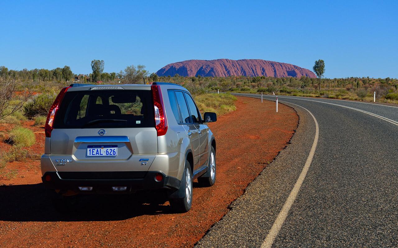 Take a drive to see the best Uluru sights
