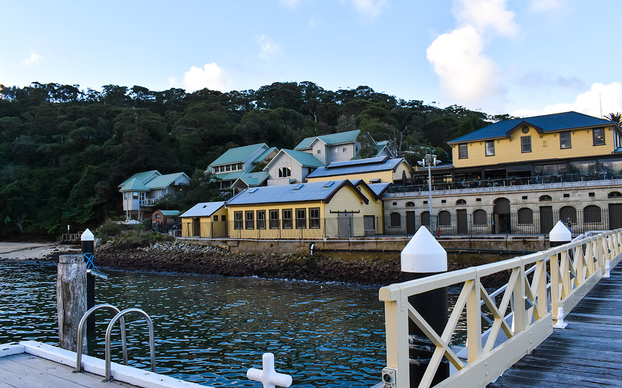 The Barracks at Chowder Bay, Middle Head