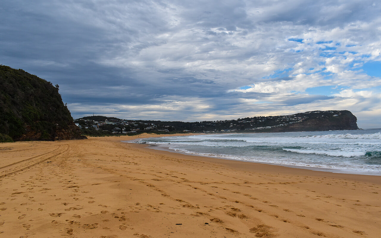 McMasters Beach is at the north end of Bouddi National Park