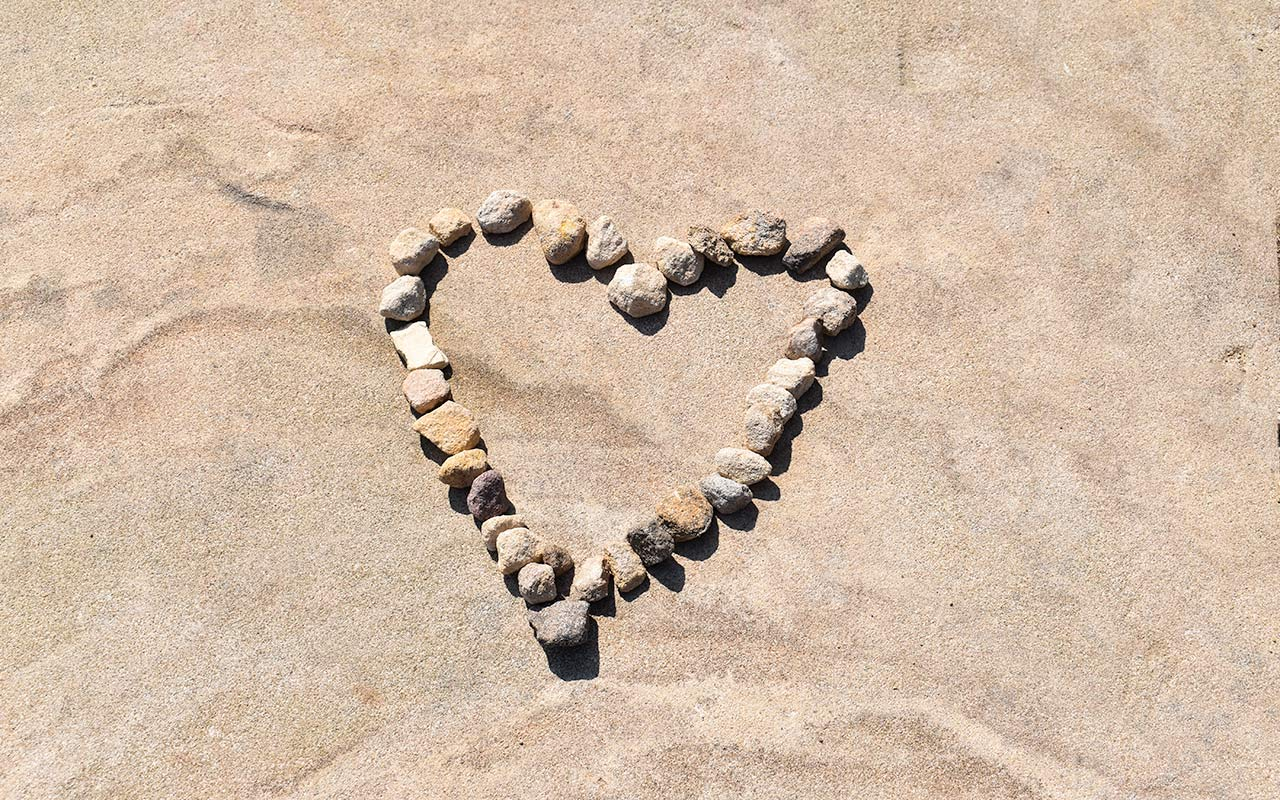 You can find love on the Barrenjoey Lighthouse Walk
