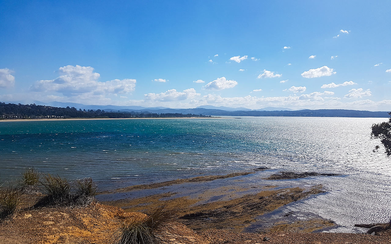 The Clyde River mouth is at Batemans Bay NSW