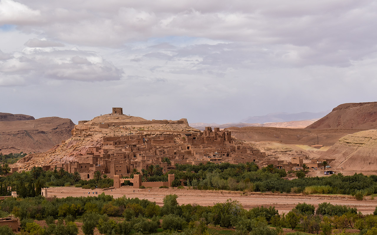 Ait Benhaddou is one of the best things to see by the roads in Morocco