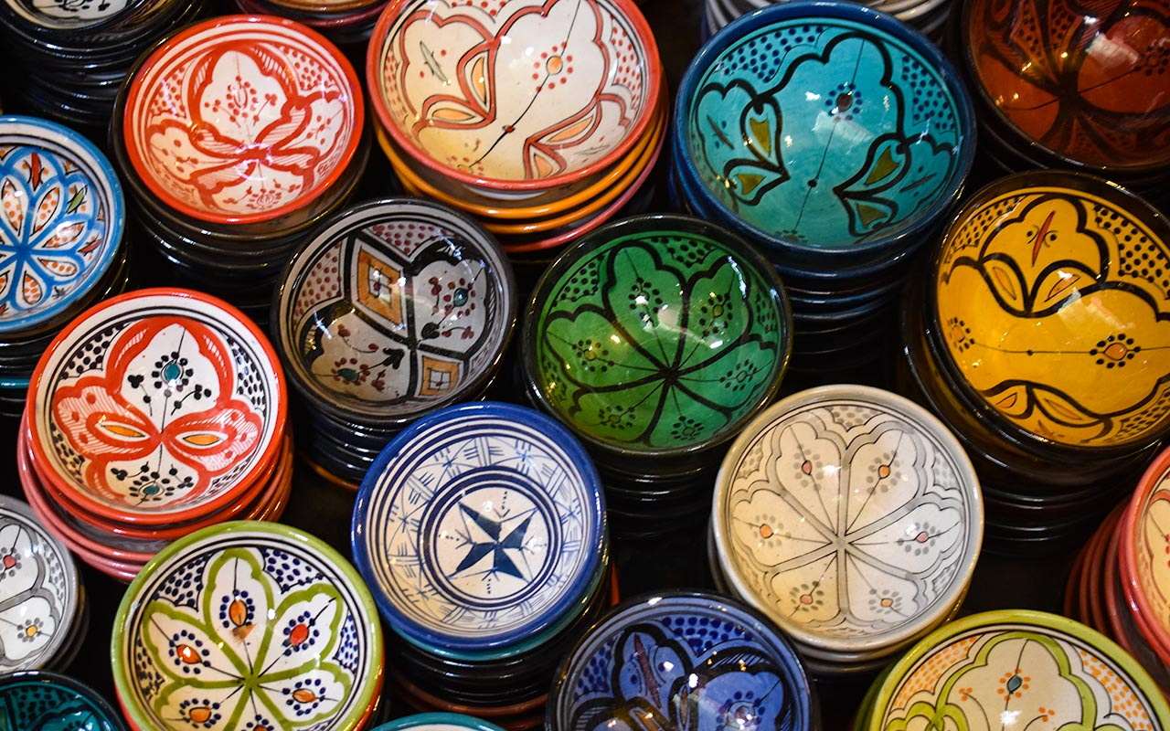 Moroccan ceramics are a must buy in Morocco