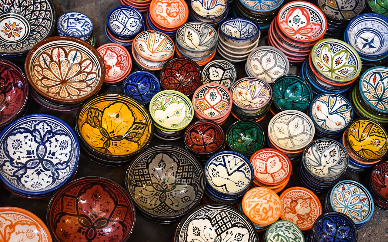 Read my tips on haggling for ceramics in Morocco