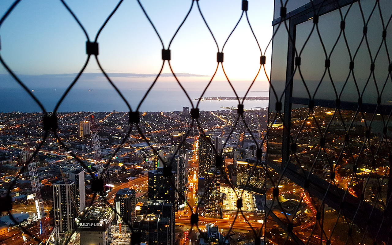 Don't miss the Eureka Skydeck during your 2 days in Melbourne