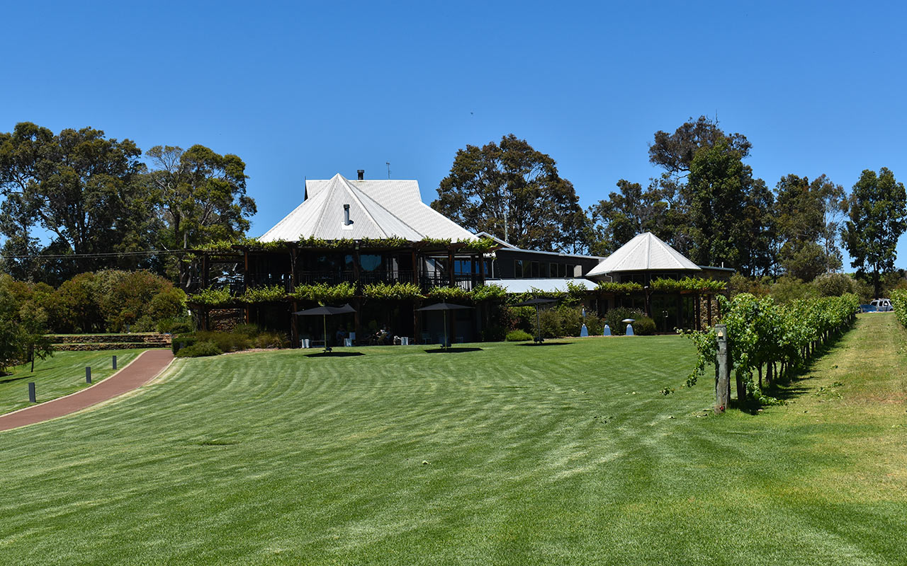 Enjoy a delicious lunch at one of Margaret River's wineries