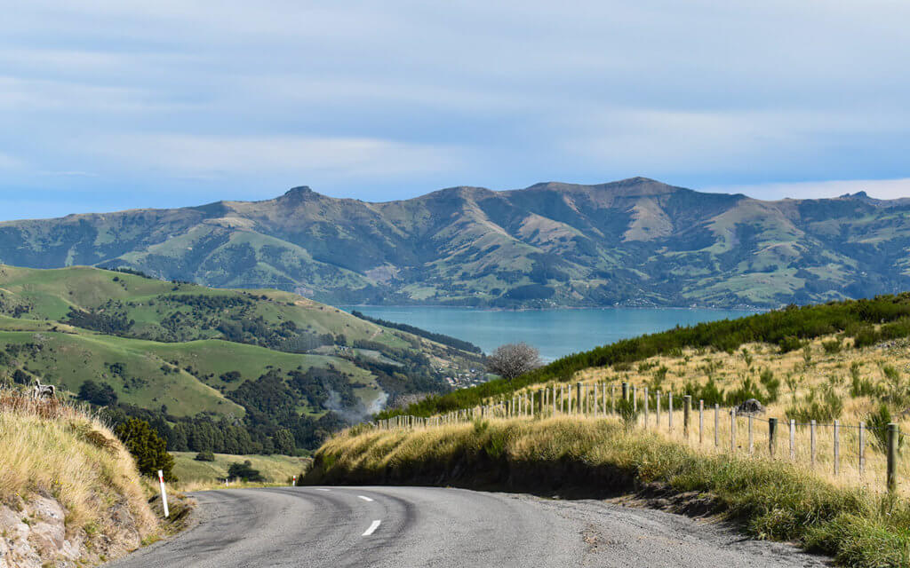 New Zealand roads can be narrow