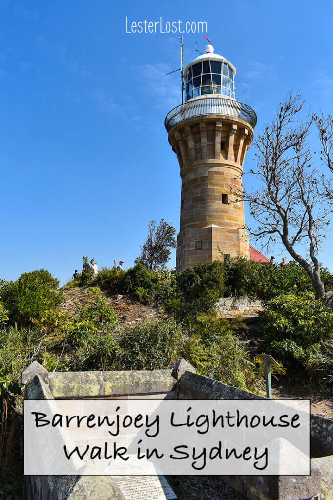 The Barrenjoey Lighthouse walk is a great day trip in Palm Beach