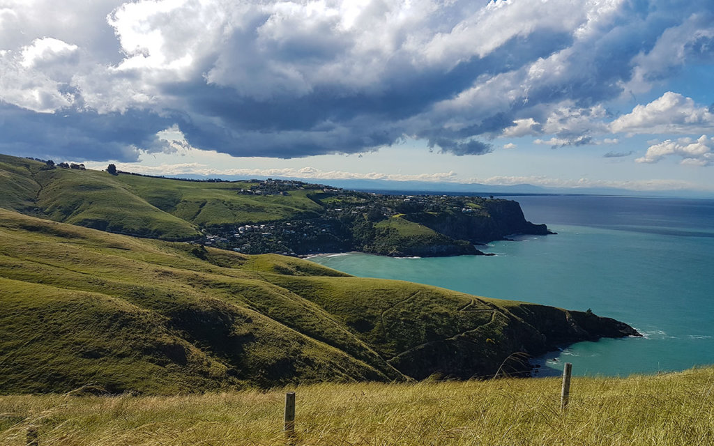 Driving around the Banks Peninsula is a great experience