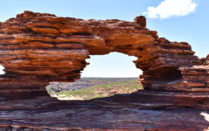 Nature's Window is a famous feature of Kalbarri National Park