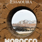 Essaouira in Morocco is a super cool place to hang out for a few days