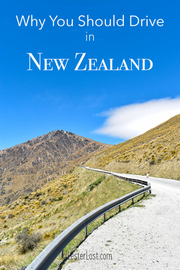 Driving in New Zealand is the best way to visit the country