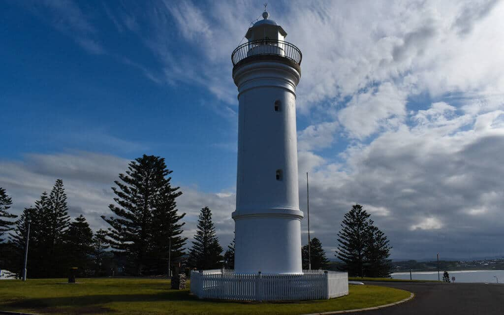 Kiama Lighthouse is just near the famous blowhole