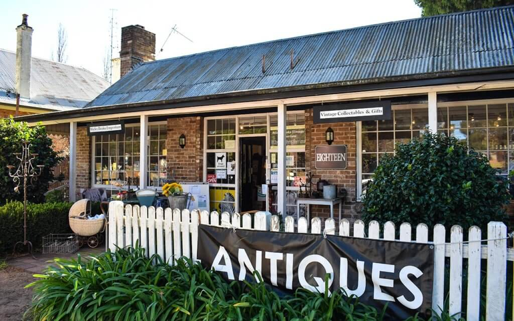 Berrima is a great place to look for antiques