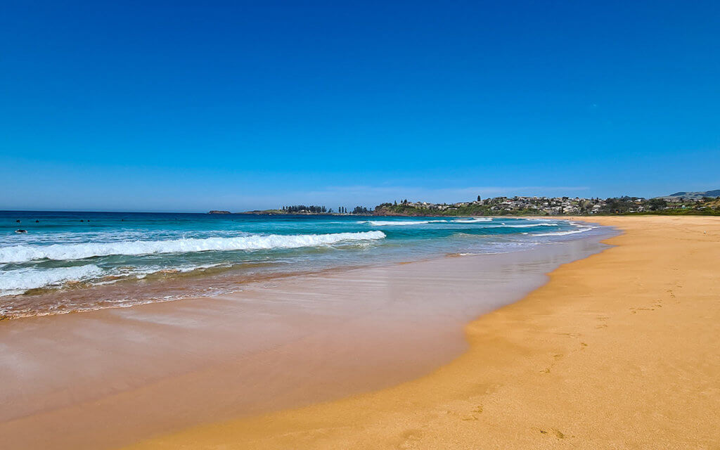 Bombo Beach is the prettiest beach in Kiama